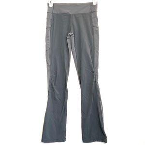 LuLuLemon Kids Ivivva Grey Bootleg Active Pants